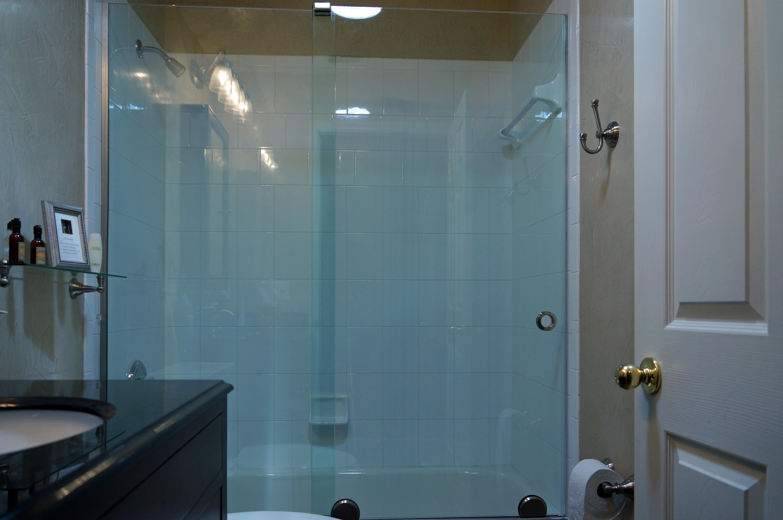 Euro Slide Frameless Shower Doors Vitralum Glass Solutions
