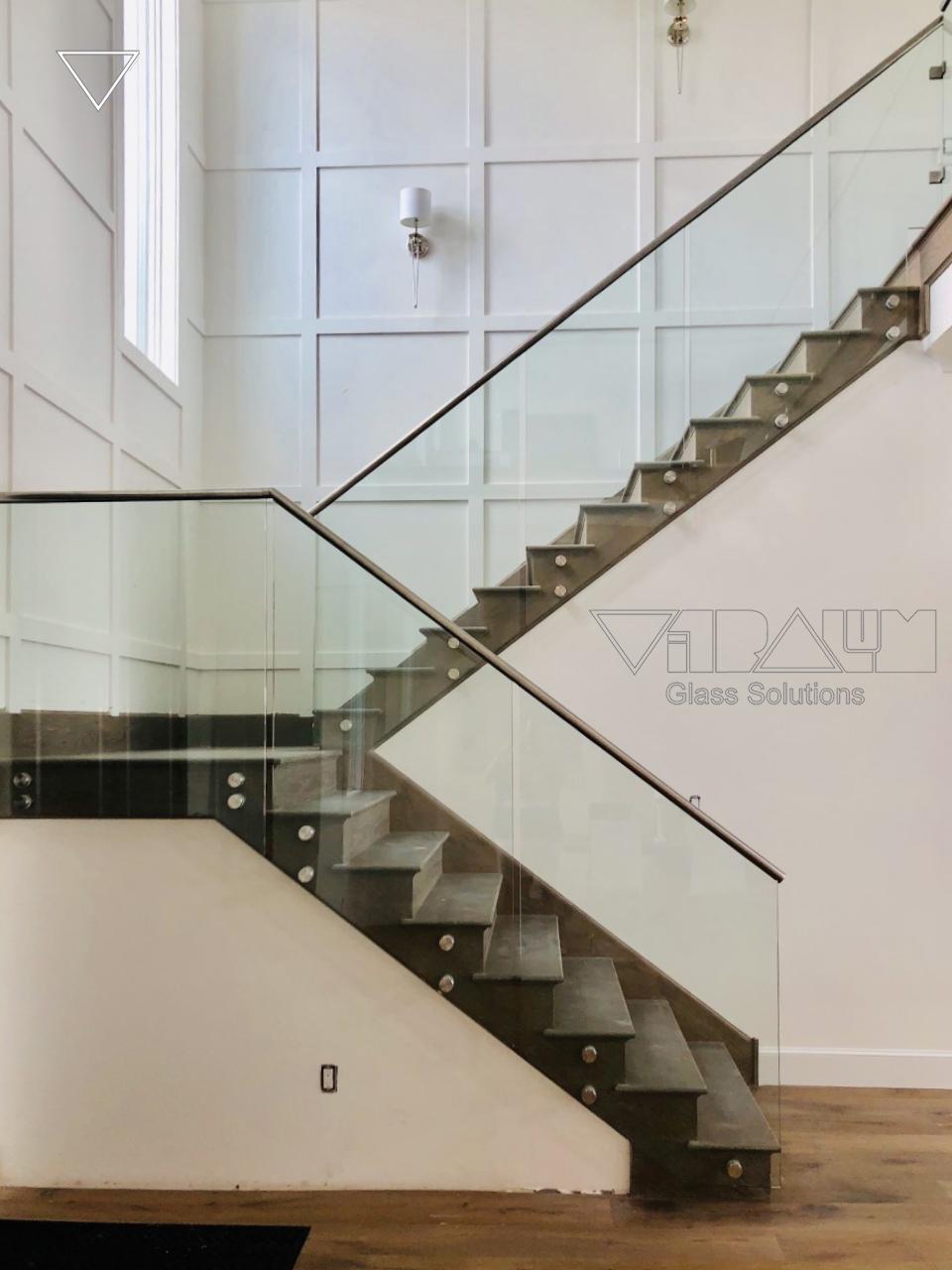 Frameless Glass Railings Orlando Vitralum Glass Solutions