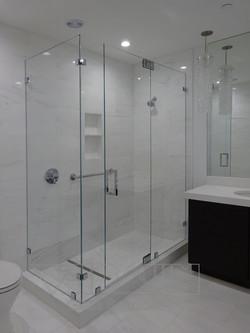 Frameless Glass Enclosure 90