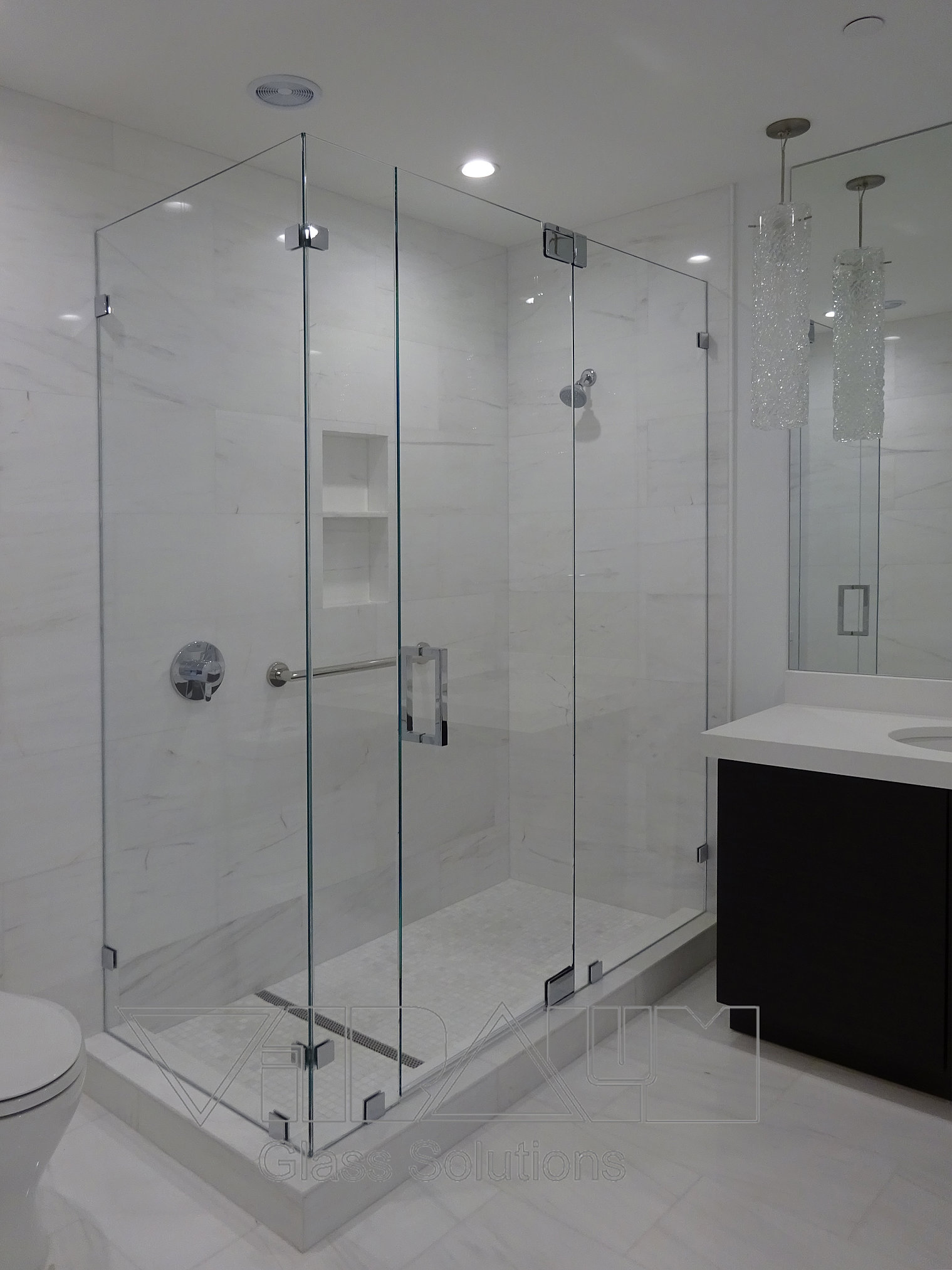 Frameless Shower Doors Custom Glass Enclosures And