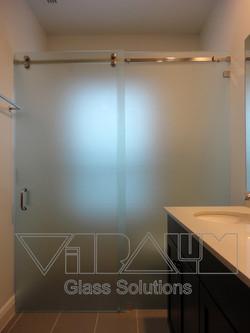 Frameless Glass Slider