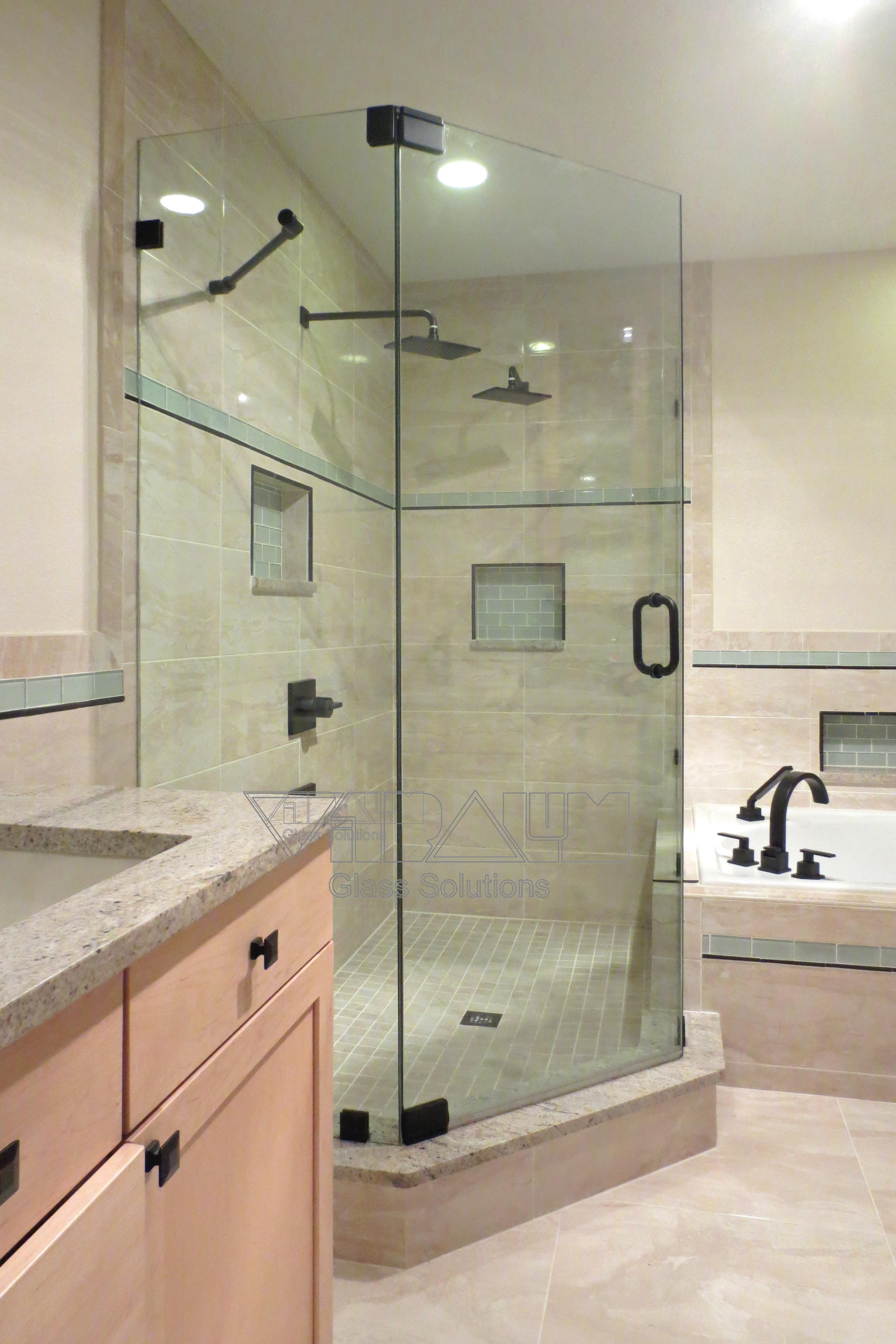 Neo Frameless Shower Doors Vitralum Glass Solutions