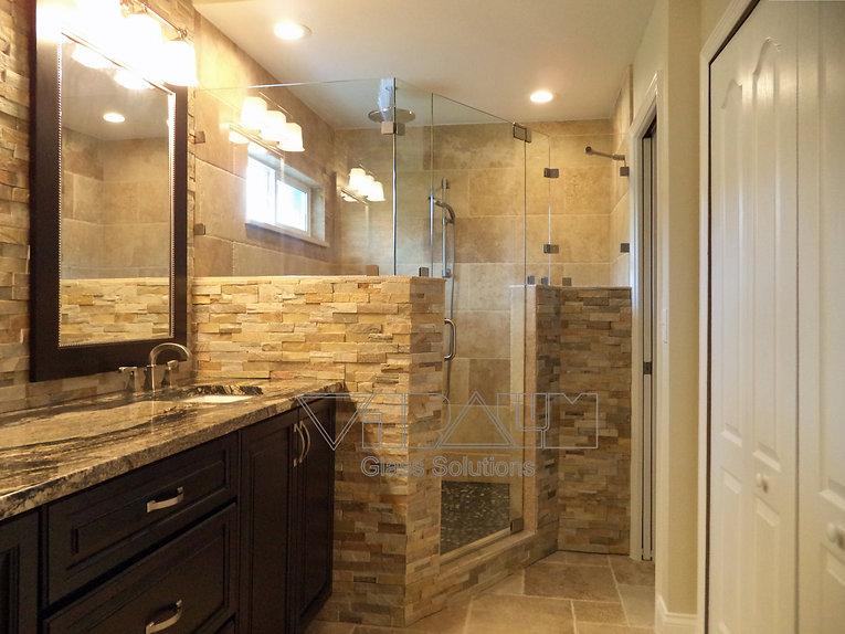 Frameless Shower Doors Custom Glass Enclosures And