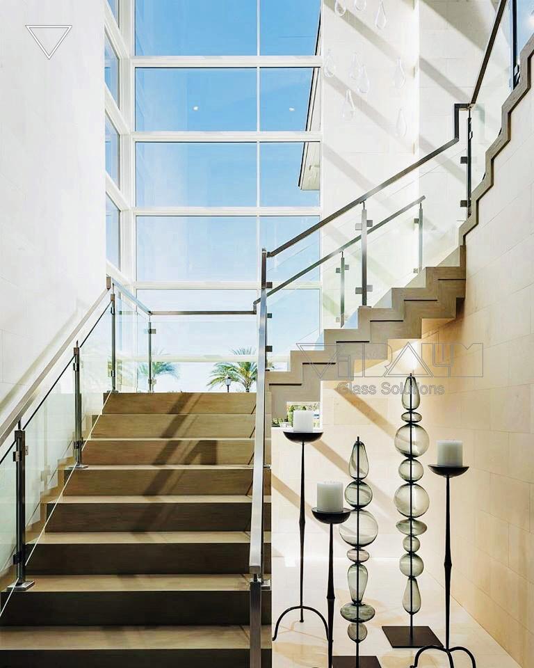 Frameless Glass Railings | Orlando | Vitralum Glass Solutions