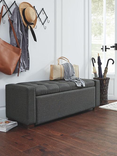 Cortwell - Gray - Storage Bench