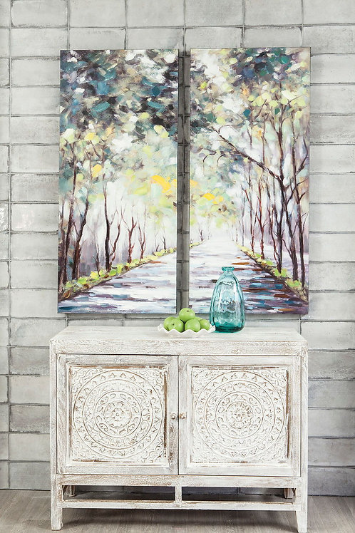 Donagh - Green - Wall Art Set (2/CN)