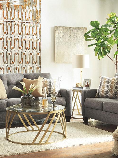 Daylon - Graphite - Sofa, Loveseat & Accent Chair