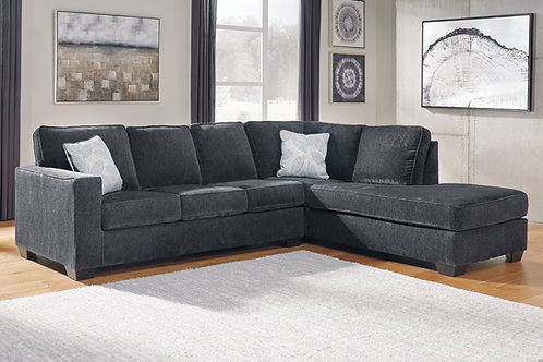 Altari - Slate - 2-Piece Sectional with Chaise