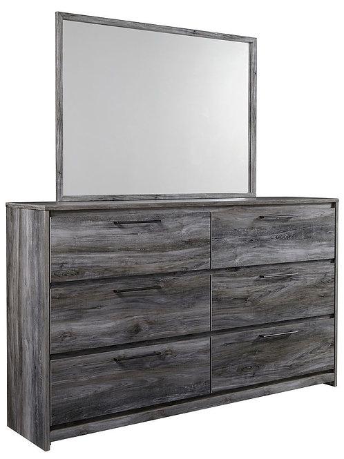 Baystorm - Gray - Bedroom Mirror