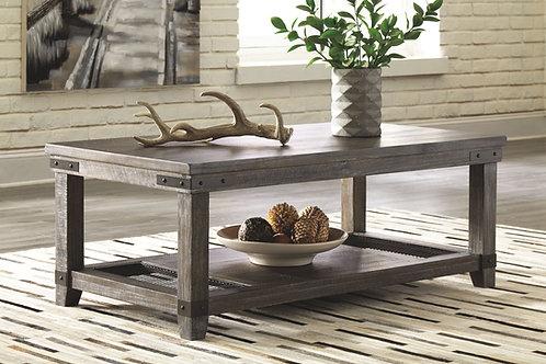 Danell Ridge - Brown - Rectangular Cocktail Table