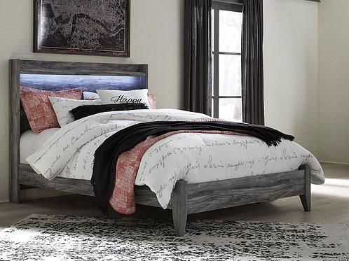 Baystorm - Gray - Queen Panel Bed