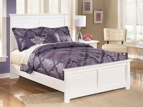 Bostwick Shoals - White - Full Panel Bed