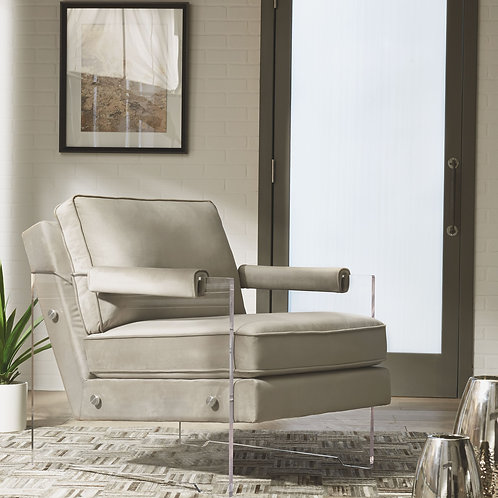Avonley - Taupe - Accent Chair
