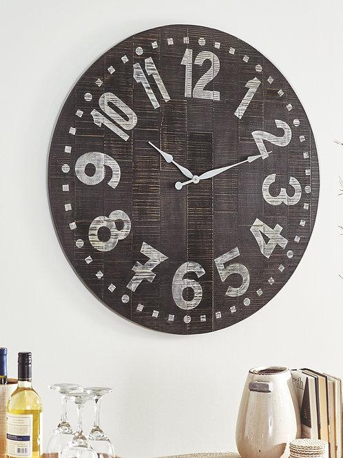 Brone - Black/White - Wall Clock
