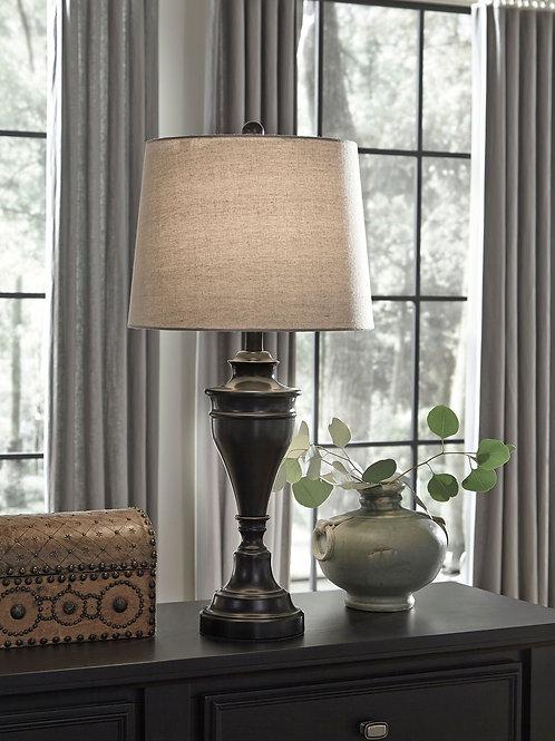 Darlita - Bronze Finish - Metal Table Lamp (2/CN)