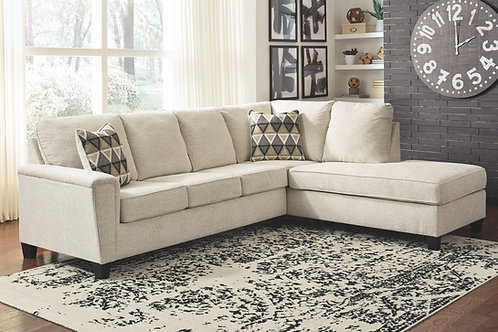 Abinger - Natural - LAF Sofa & RAF Corner Chaise Sectional