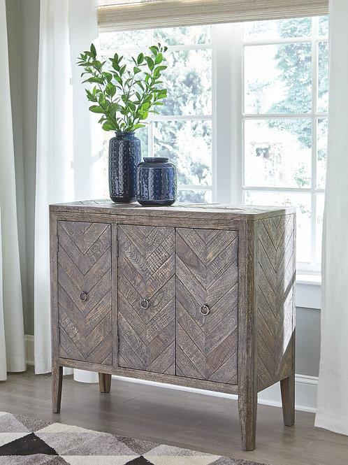 Boyerville - Antique Gray - Accent Cabinet