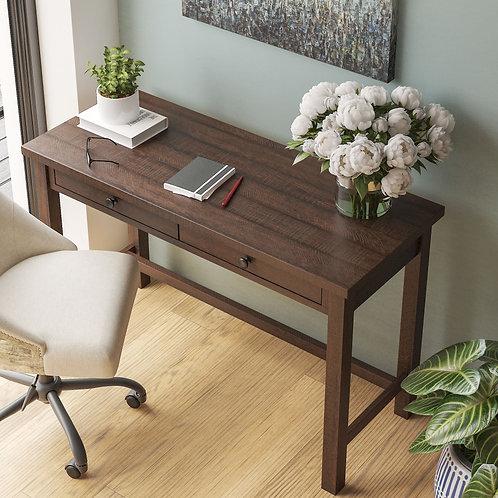 Camiburg - Warm Brown - Desk & Swivel Desk Chair