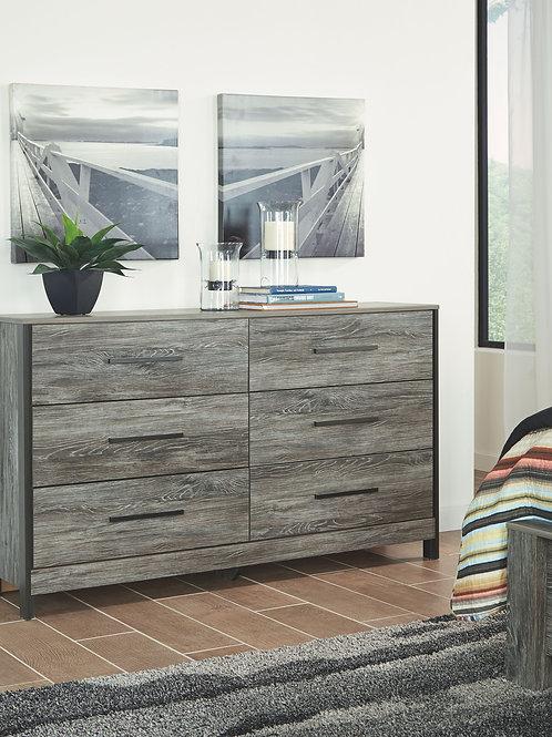 Cazenfeld - Black/Gray - Dresser