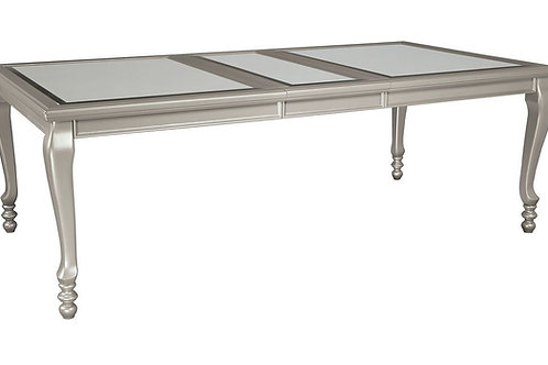 Coralayne - Silver - RECT Dining Room EXT Table