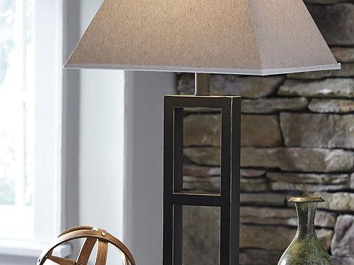Deidra - Black - Metal Table Lamp (2/CN)