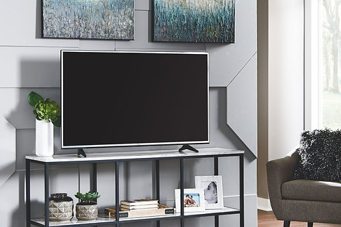 Donnesta - Gray/Black - Extra Large TV Stand
