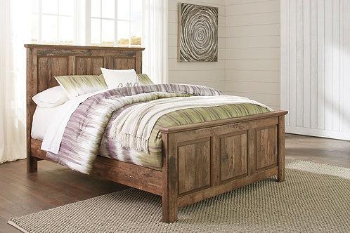 Blaneville - Brown - Queen Panel Bed