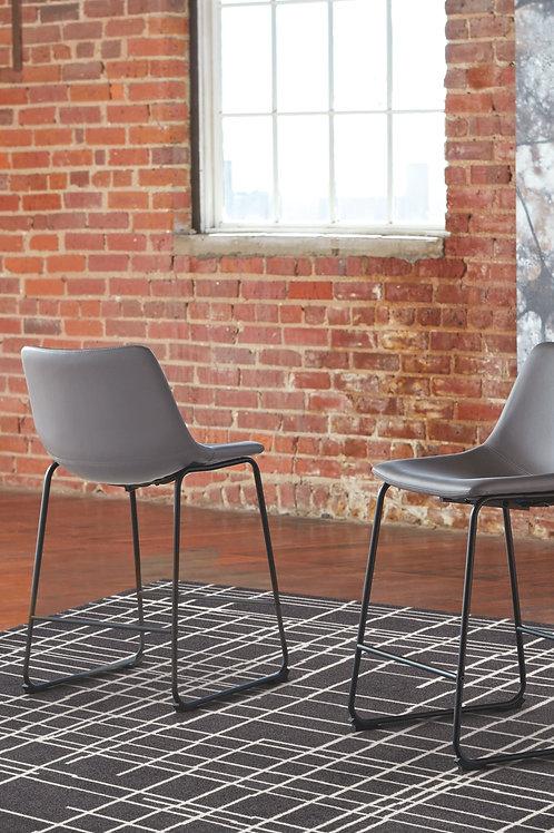 Centiar - Gray - Upholstered Barstool