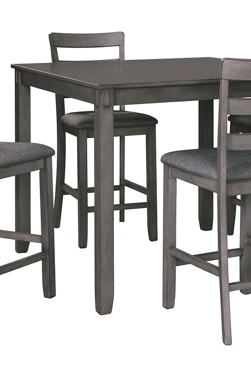 Bridson - Gray - Square Counter TBL Set (5/CN)