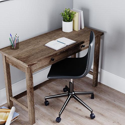 Arlenbry - Gray - Home Office Desk & Swivel Desk Chair