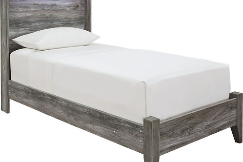 Baystorm - Gray - Twin Panel Bed