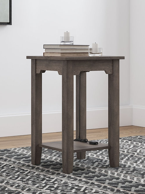 Arlenbry - Gray - Chair Side End Table