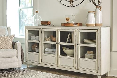 Deanford - Antique White - Accent Cabinet