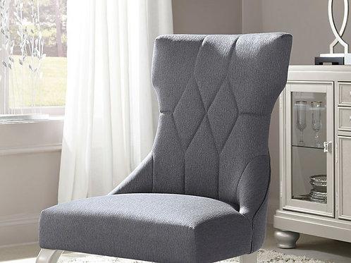 Coralayne - Dark Gray - Dining UPH Side Chair