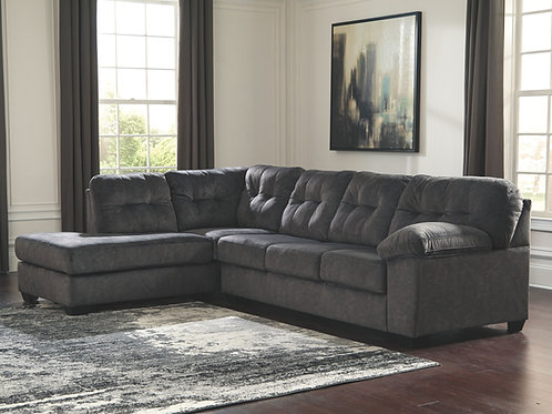 Accrington - Granite - 2-Piece Sectional with Chaise