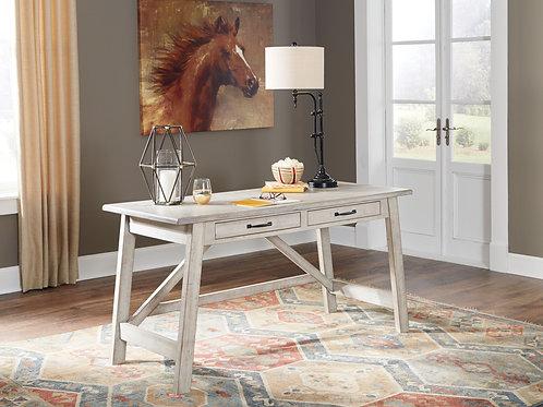 Carynhurst - Whitewash - Home Office Large Leg Desk