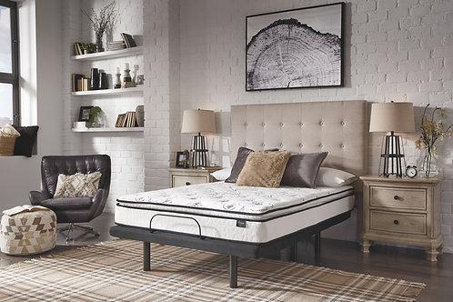10 Inch Bonnell PT - White - King Mattress & Adjustable Base