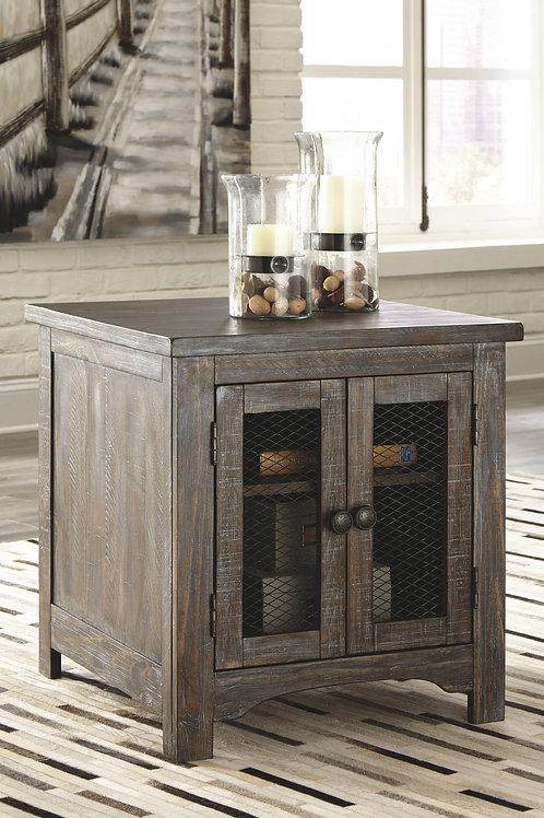 Danell Ridge - Brown - Rectangular End Table