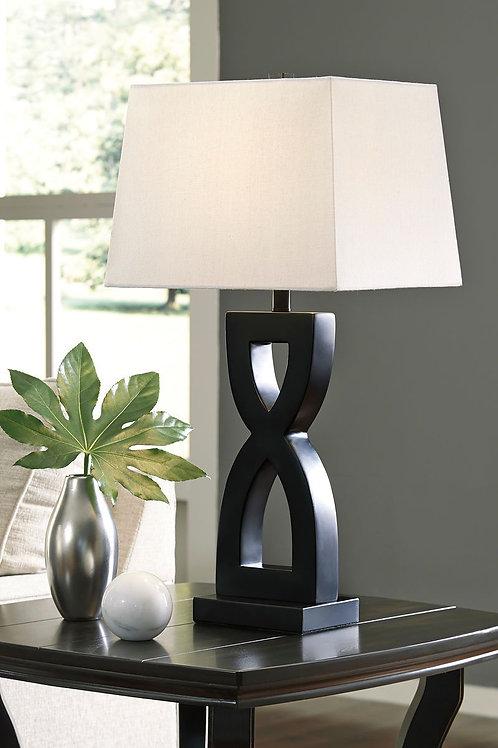 Amasai - Black - Poly Table Lamp (2/CN)