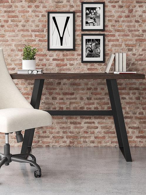 Camiburg - Warm Brown - Small Desk, File Cabinet & Swivel Desk Chair