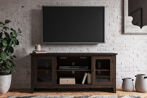 Camiburg - Warm Brown - LG TV Stand w/Fireplace Option