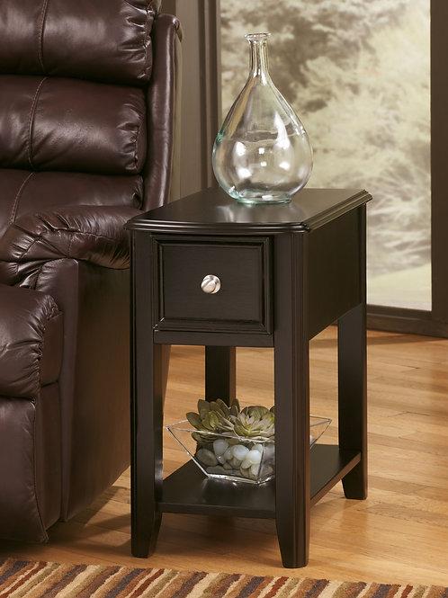Breegin - Almost Black - Chair Side End Table