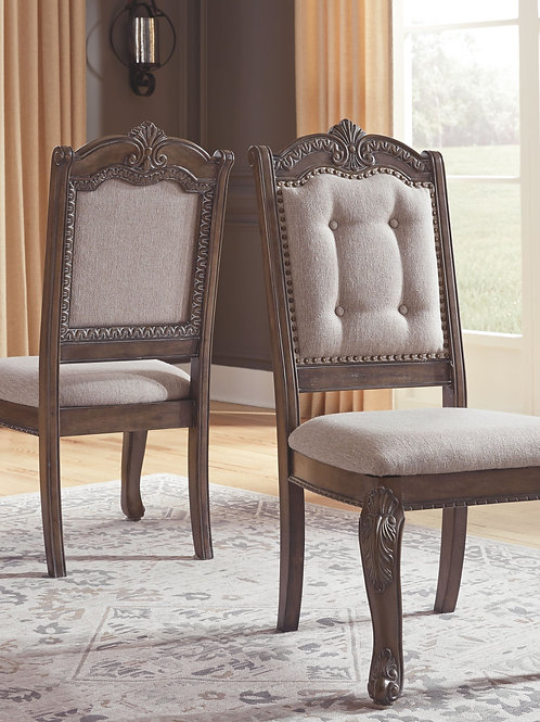 Charmond - Brown - Dining UPH Side Chair
