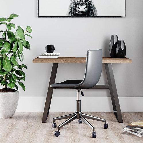 Arlenbry - Gray - Home Office Small Desk & Swivel Desk Chair