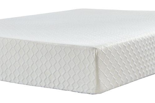 Chime 12 Inch Memory Foam - White - Twin Mattress