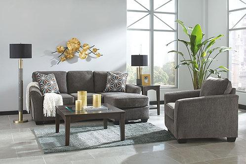 Brise - Slate - Sofa Chaise & Chair