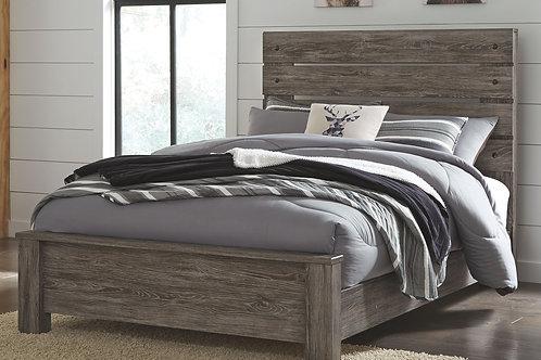 Cazenfeld - Black/Gray - Full Panel Bed