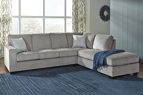 Altari - Alloy - 2-Piece Sectional with Chaise