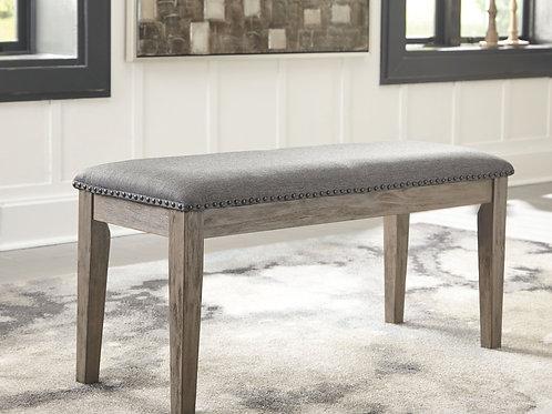 Aldwin - Gray - Upholstered Bench