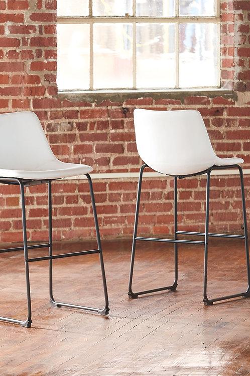 Centiar - White - Tall UPH Barstool